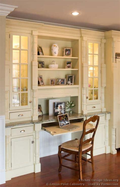 desk in kitchen design ideas kitchen desk cabinet ideas