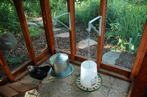 Hanging Feeder For Chickens by Any Ideas For Heating A Hanging Waterer