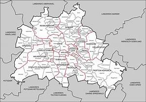 Berlin Hohenschönhausen Karte : berliner bezirke liste und karte der stadtteile berlins ~ Buech-reservation.com Haus und Dekorationen