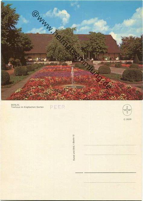 Englischer Garten Berlin Tiergarten by Historische Ansichtskarten Berlin Tiergarten Partie Im