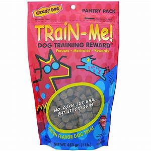 Crazy Dog Train-Me! Bacon Flavored Training Reward Dog ...