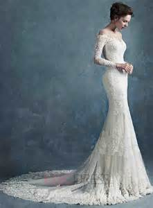 wedding gown with sleeves ericdress sleeves mermaid wedding dress wedding dresses 2015 ericdress 11314350