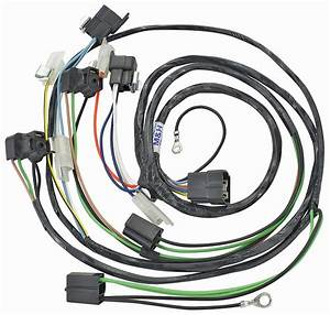 Forward Lamp Wiring Harness  1962 Cadillac