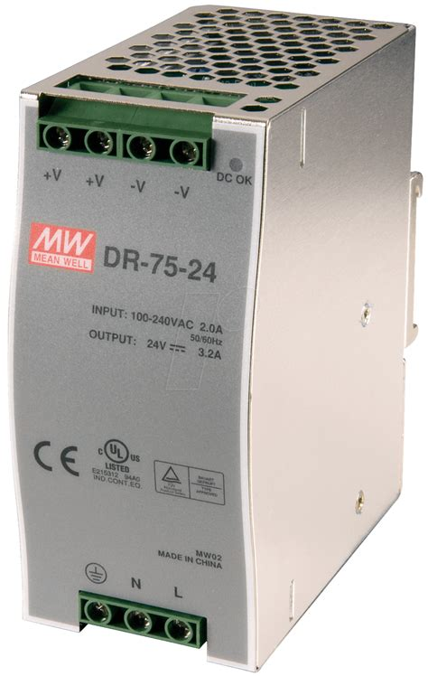 DR-75-24 - Mean Well - DR7524 - datasheet