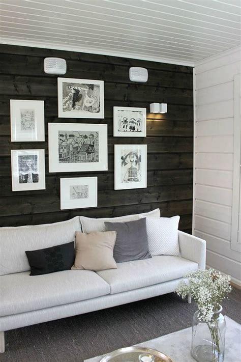 Living Room With Dark Dramatic Walls: 30 Ideas Decoholic