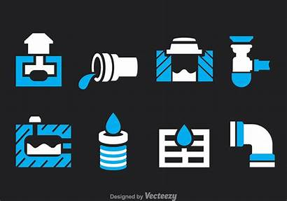 Sewage Vector Icons System Icon Water Sewer