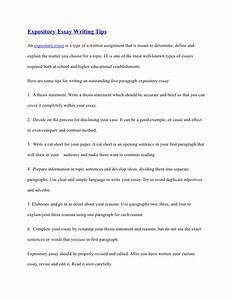 Learning English Essay Writing Tips For Writing Expository Essays Thesis Essay Topics also Topics Of Essays For High School Students Tips For Writing Expository Essays Rwth Aachen Dissertation Latex  Process Paper Essay
