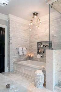 bathroom tile designs photos Top 60 Best Bathtub Tile Ideas - Wall Surround Designs