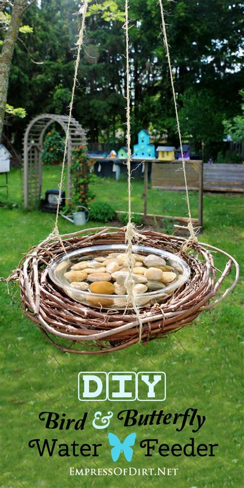 bird water feeder craftionary