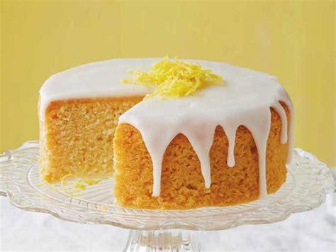 lemon food cake dessert lemon cake with lemon glaze cookstr