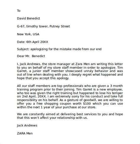 sample personal business letter format  documents