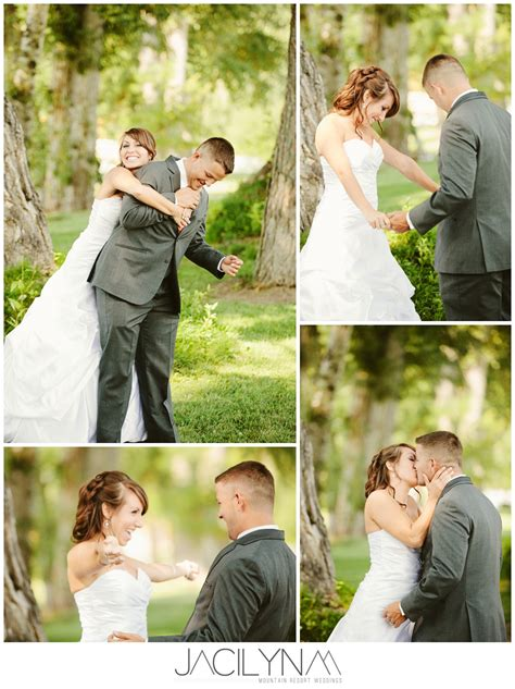 First Look To Do Or Not To Do  Montana Wedding