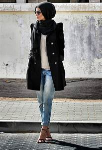 Latest Casual Hijab Styles with Jeans 2017 2018 Trends & Looks
