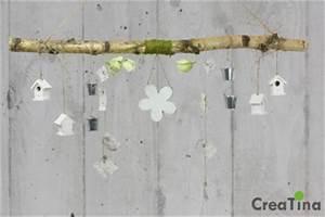 Fensterdeko Zum Aufhängen : creatina ast aus birkenholz zum aufh ngen mit holzblume und deko 118 cm lang ~ Eleganceandgraceweddings.com Haus und Dekorationen