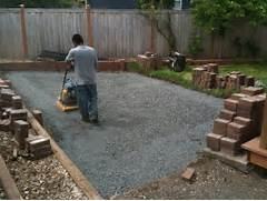 Adding Pavers To Concrete Patio Decorate Installing Patio Pavers