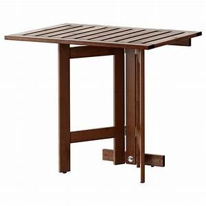 Table Exterieur Pliante : pplar table murale pliante ext rieur teint brun 80 x 56 cm ikea ~ Teatrodelosmanantiales.com Idées de Décoration