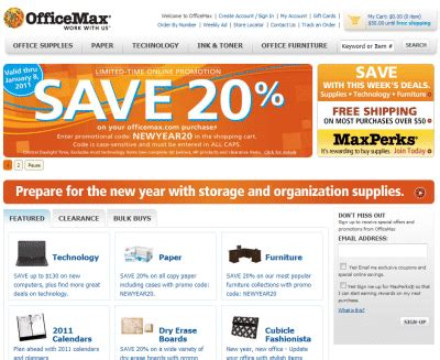 Office Depot Coupons For Direct Customers by Office Depot 174 And Officemax 174 Coupon Code