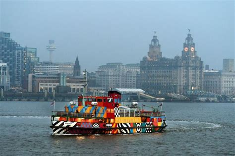 Boat Service Liverpool by Mersey Ferries Service To Remain Suspended Until Sea Trial