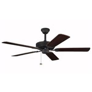 black ceiling fan light