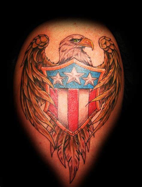 bald eagle american tattoo  shaun washburn wwwsatori inkcom shaun washburn pinterest