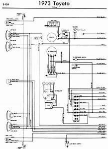 Toyota Hilux 1973 Wiring Diagrams