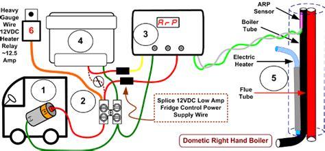 dometic box wiring