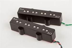 N3 Noiseless U2122 Jazz Bass Pickups By Fender  Bass  Bass