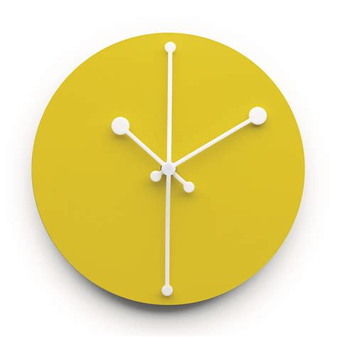 Decorative Bathroom Wall Clocks buy the alessi dotty clock utility design