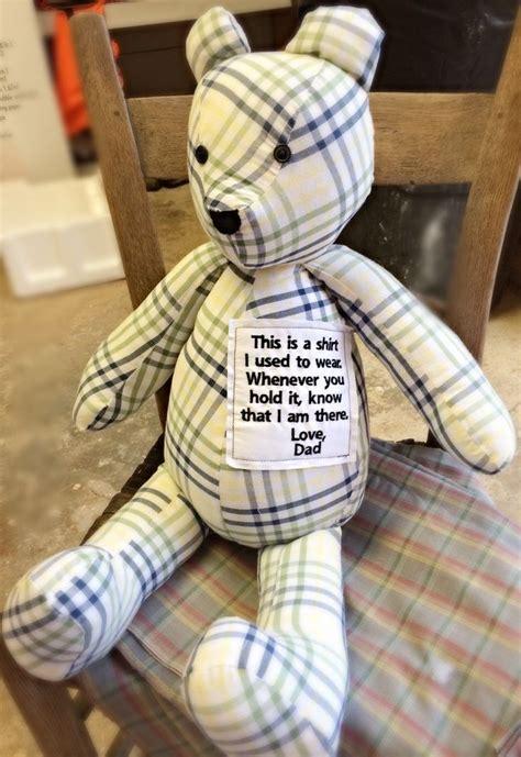 adorable diy memory bears pattern  instructions