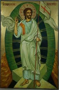 Jesus Christ Resurrection Icon