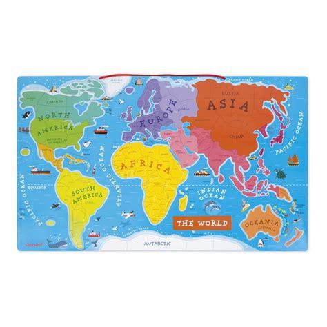 Magnetna mapa sveta | Gradska Beba | Gradska Beba