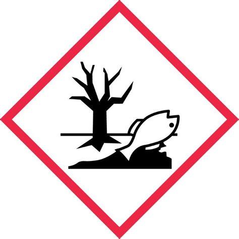 ghs environmental label  labels