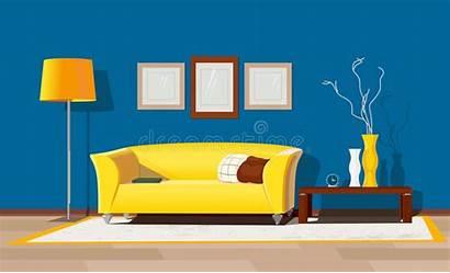 Interior Drawing Freehand Disegno Della Moderne Casa