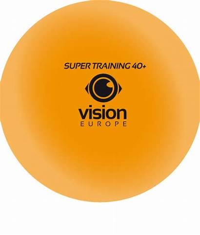 Ball Tennis Table Vision Orange Balls Super