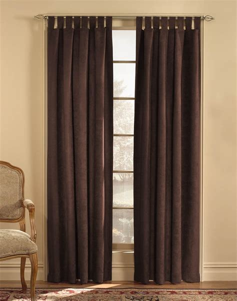 Tab Top Drapes by Top Tab Curtains