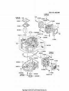 Kawasaki Fh580v Crankcase