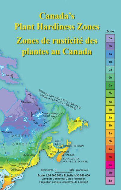 Canadian Plant Hardiness Map  Florissa Flowers, Plants