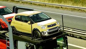 Citroen C1 Urban Ride Soon On Sale  Production Models Spotted On A Trailer