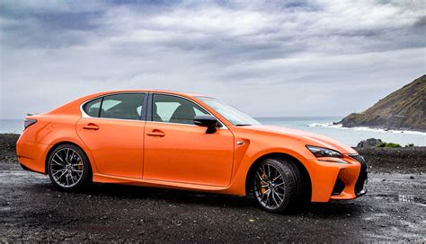 gsf lexus orange 2016 lexus gs f review gtspirit
