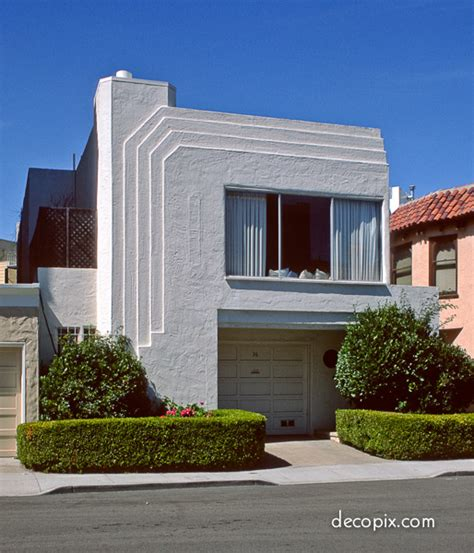 Art Deco Houses Gallery  Decopix