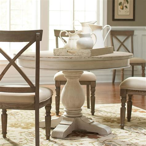 riverside dining room  dining table pedestal