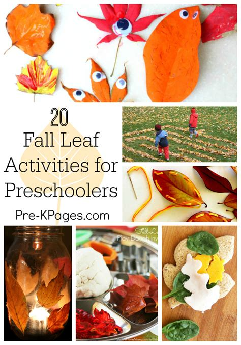 20 fall leaf activities for preschoolers 489 | Fall Leaf Activities for Preschoolers