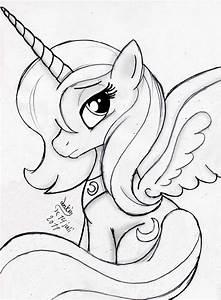 Mlp Fim Princess Luna 2 By Joakaha On Deviantart