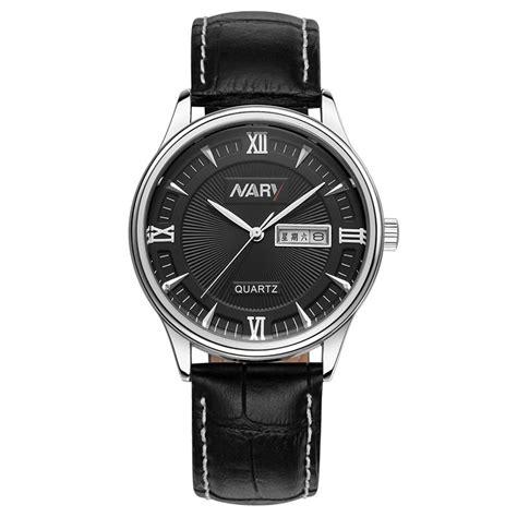 Jam Tangan Guess Kulit Black nary jam tangan analog kulit 5400 black silver