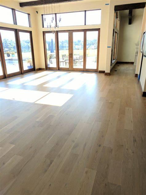 white oak  natural finish matte sheen  max hardwood