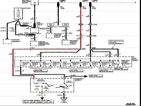 Chevy Express Headlight Switch Wiring Diagram