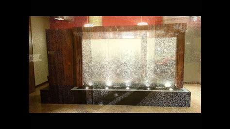 indoor water wall features created  aqua eden youtube