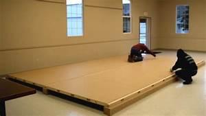 Portable dance floor diy thecarpetsco for How to make a portable dance floor