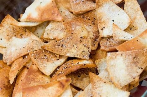 Homemade Pita Chips By Sallye   Just A Pinch Recipes