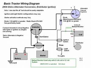 12 Volt Alternator Wiring Diagram : oliver 60 need wiring help oliver cletrac coop and ~ A.2002-acura-tl-radio.info Haus und Dekorationen